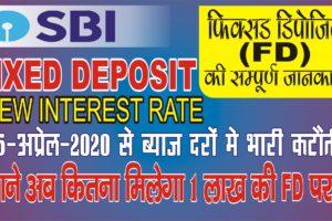 Fixed Deposit 2020